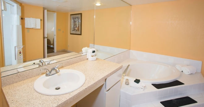 Celebrity Legacy Vacation Club Resort Indian Shores Master Bathroom Your Florida Vacation Rental