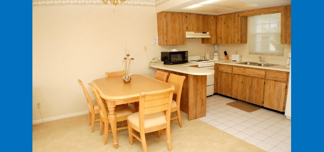 Oyster Pointe Resort Sebastian Florida Dining Kitchen Area Your Florida Vacation Rental