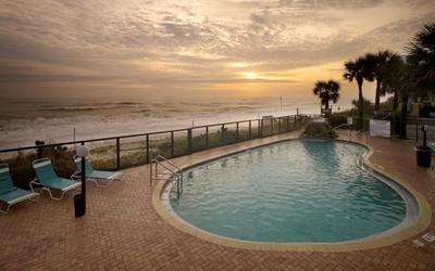 Tropic Sun Towers Resort Ormond Beach Pool Ocean